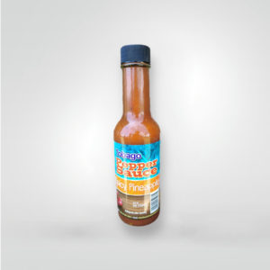 Tobago Pepper Sauce - Spicy Pineapple